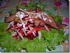 вкусный рецепт, вкусный салат, лёгкий салат, простой рецепт