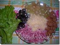 салат с ветчиной, салат с сухариками, творожное тесто