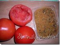помидоры фаршированные грибами, простой рецепт, рецепт фаршированные помидоры, фаршированные помидоры рецепт с фото