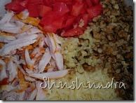 салат с копченой курицей, салат сыр курица копченая, салат из копченых куриных грудок, салат с орехами, рецепт салат простой, афродизиак