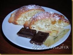венок, тесто, начинка из творога, творожный кекс