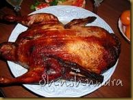 фаршированная утка, рождественский рецепт
