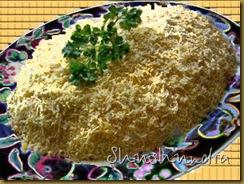 рецепт салат мимоза, салатик