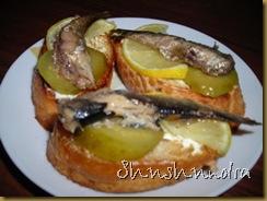 бутерброды со шпротами, бутерброды на скорую руку, вкусные бутерброды