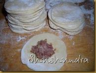 лепка пельмени, пельменное тесто, мясной фарш, рецепт, рецепт с фото