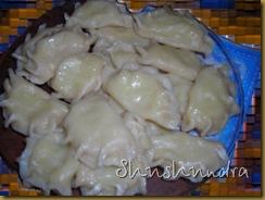 вареники украинские, вареники рецепт, тесто для вареников, пельмени с маслом