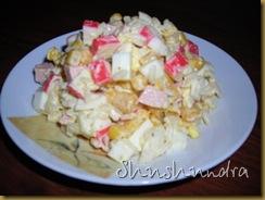 крабовый салат рецепт, крабовый салат с кукурузой, салат из крабовых палочек, вкусные и простые рецепты