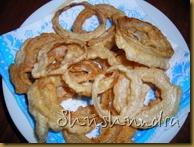 луковые кольца, луковые кольца в кляре, закуски к пиву, рецепт кляр