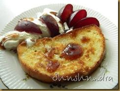 рецепт гренки, сладкие гренки, гренки с яйцом, французский десерт