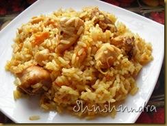 рассыпчатый плов, плов с курицей, как приготовить плов с курицей, рис для плова, по-татарски