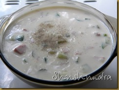 холодный суп, окрошка на ряженке, приготовление окрошки, башкирская кухня