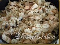 ризотто с грибами, ризотто с курицей, блюда итальянской кухни, приготовление ризотто
