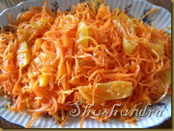 закуска из моркови, салат с корейской морковью, салат с курагой, морковча