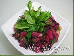 классический винегрет, рецепт винегрет, салат винегрет, приготовление винегрета, смешанные салаты