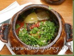 абхазская кухня, чанах, овощи в горшочке, баклажаны в горшочке, по абхазски