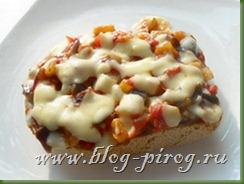 итальянский завтрак, горячий бутерброд, итальянские бутерброды, бутерброды с сыром