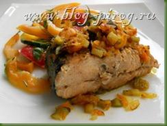 горбуша с овощами, горбуша под овощами, горбуша под шубой, горбуша тушеная с овощами, рыба под овощами, рыба тушеная с овощами