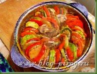 блюдо рататуй, французский рататуй, блюдо рататуй рецепт, ратотуй,  классический рататуй