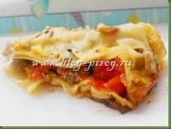 рецепт приготовления лазанья, лазанья по-неаполитански, как приготовить лазанью, рецепты итальянская кухня, рецепт с фото, лазанья с фаршем и грибами, листы для лазаньи