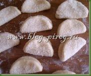 творожное печенье, печенье ушки, рецепт печенье из творога, печенье творожное треугольники, печенье из творога треугольники