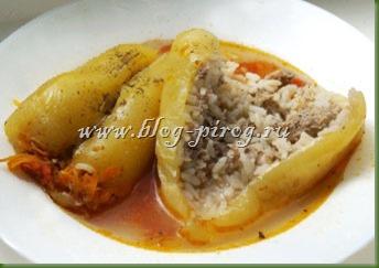 фаршированный перец в мультиварке, рецепты для мультиварки Redmond, перец фаршированный мясом, как приготовить фаршированный перец