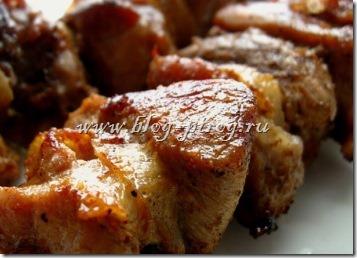 настоящий шашлык, шашлык из свинины в духовке, шашлык дома в духовке, домашние шашлыки в духовке
