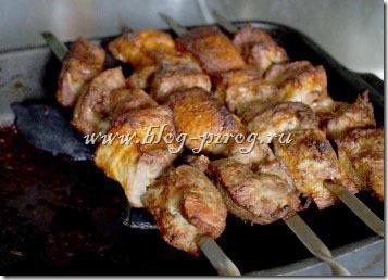 замариновать мясо для шашлыка, приготовить шашлык в духовке, как приготовить шашлык в духовке, настоящий шашлык