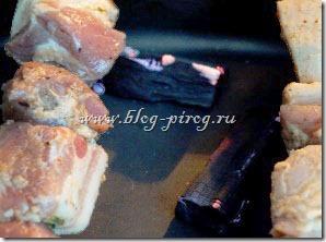 настоящий шашлык, шашлык из свинины в духовке, шашлык дома в духовке