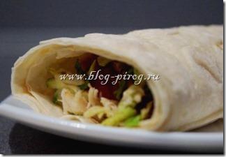 шаурма по-домашнему, домашние рецепты шаурмы, шаурма с курицей, как приготовить шаурму, шаурма в лаваше