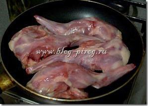 кролик с вином, рецепт кролик в вине, как вкусно приготовить кролика