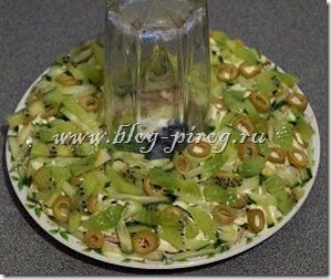 салат изумрудный браслет